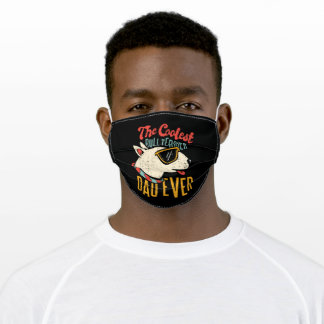 Bull Terrier Dad Adult Cloth Face Mask