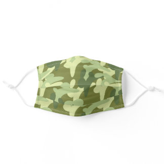 Bunny Camo Adult Cloth Face Mask