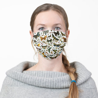 Butterfly Collage Adult Cloth Face Mask