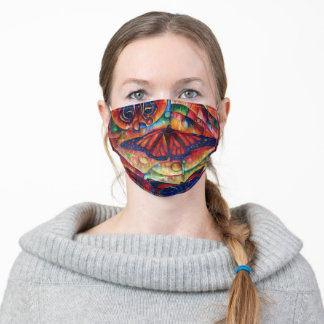 Butterfly MasksII Adult Cloth Face Mask