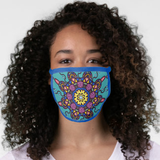 Calypso colors face mask