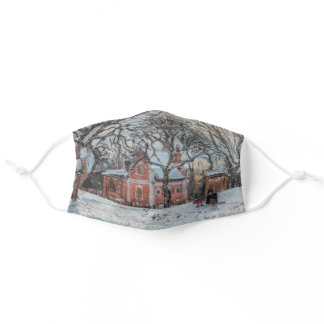 Camille Pissarro - Chataigniers a Louvecienne Adult Cloth Face Mask