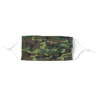 Camo Camouflage Adult Cloth Face Mask