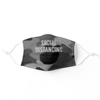 Camouflage Social Distancing Coronavirus Rugged Adult Cloth Face Mask
