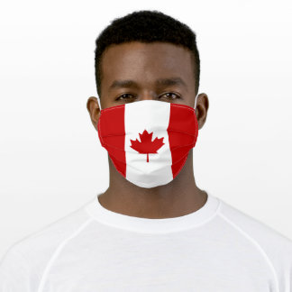 Canada Flag Adult Cloth Face Mask