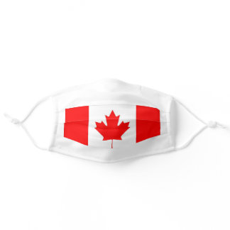 CANADIAN FLAG ADULT CLOTH FACE MASK
