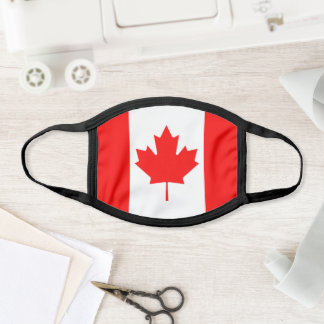 Canadian Maple Leaf Canada Day Reusable Red White Face Mask
