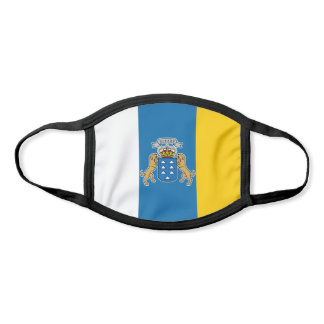 Canary Islands Flag Face Mask