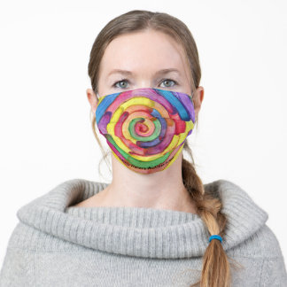 Candy Waters Autism Artist Adult Cloth Face Mask