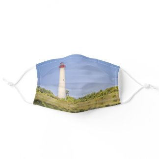Cape May Lighthouse Adult Cloth Face Mask