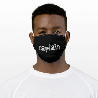Captain Adult Cloth Face Mask