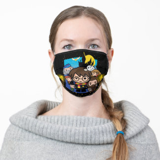 Cartoon Harry Potter and the Sorcerer's Stone Adult Cloth Face Mask