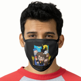Cartoon Harry Potter and the Sorcerer's Stone Face Mask