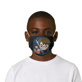 Cartoon Harry Potter Chamber of Secrets Graphic Kids' Cloth Face Mask