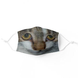 Cat eyes adult cloth face mask