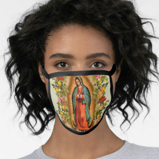 Catholic Religious Blessed Virgin Mary Guadalupe Face Mask
