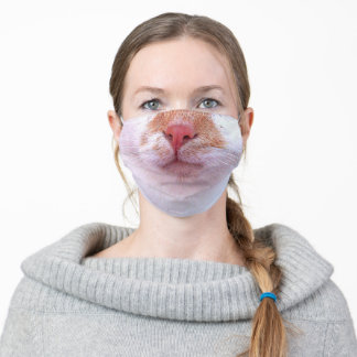 Cat's Snout Humor Adult Cloth Face Mask