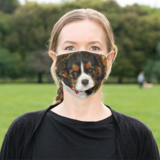 Cavalier King Charles Spaniel Puppy Cute Adult Cloth Face Mask
