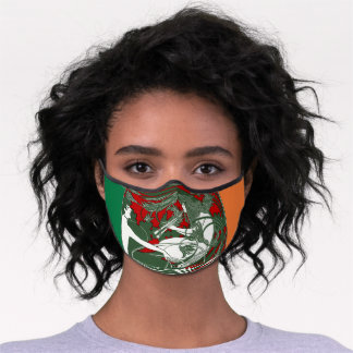 Celtic Muse face mask