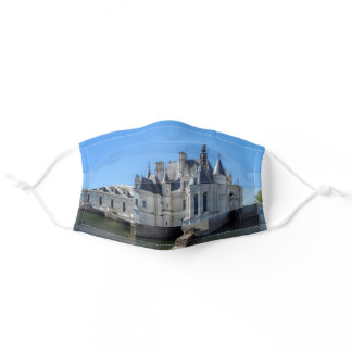 Chateau de Chenonceau in the Loire Valley - France Adult Cloth Face Mask