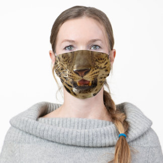 Cheetah Adult Cloth Face Mask