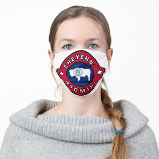 Cheyenne Wyoming Adult Cloth Face Mask