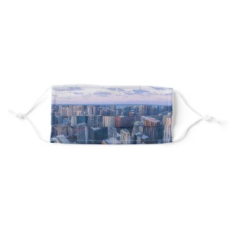 Chicago Architectural Buildings Artwork | Adult Cloth Face Mask