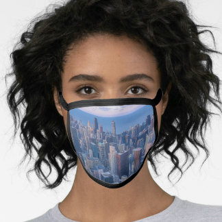 Chicago Architectural Buildings Artwork | Face Mask