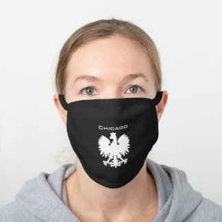 Chicago Polish Eagle Face Mask