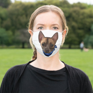 CHIHUAHUA ADULT CLOTH FACE MASK