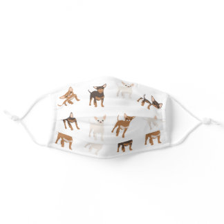 Chihuahua Dog Cute breed Adult Cloth Face Mask