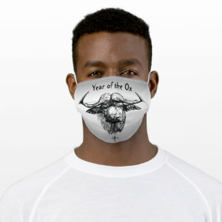 Chinese New Year of the Ox 2021 Face Mask