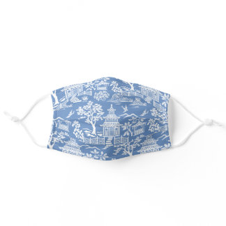 Chinoiserie Pagoda Adult Cloth Face Mask