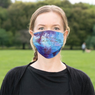 Christian Abstract Face Mask