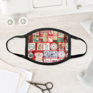 Christmas Advent Calendar Holiday Winter Graphic Face Mask