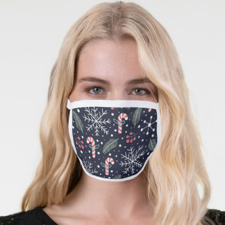 christmas face mask in covid-19 time