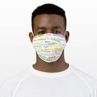 Christmas Songs Adult Cloth Face Mask