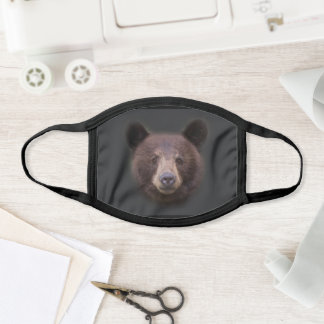 Cinnamon Black Bear Mask
