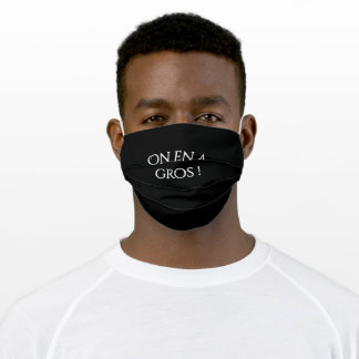 Citation Perceval et Karadoc - On en a gros Adult Cloth Face Mask