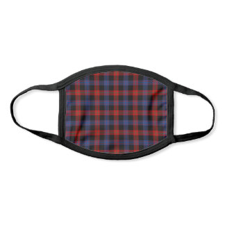 Clan Brown Tartan Face Mask