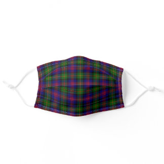 Clan Logan Tartan Adult Cloth Face Mask