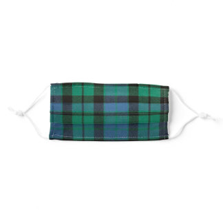 Clan MacKay Ancient Tartan Adult Cloth Face Mask