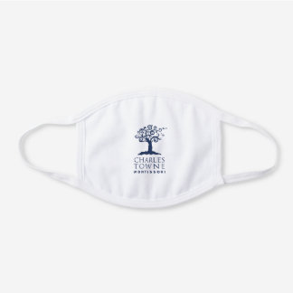 Classic CTM Logo Facemask White Cotton Face Mask