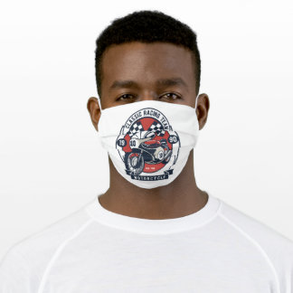 Classic racing adult cloth face mask
