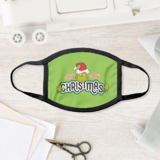 Classic The Grinch | Merry Merry Christmas Face Mask
