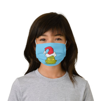 Classic The Grinch | Naughty or Nice Kids' Cloth Face Mask