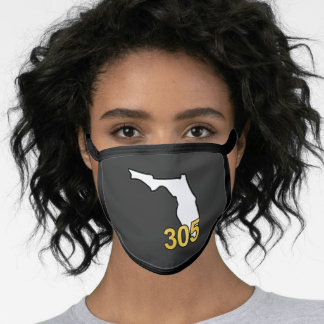 Classy 305 Area Code All-Over Print Face Mask