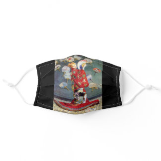 "Claude Monet, "" La Japonaise "" Adult Cloth Face Mask"