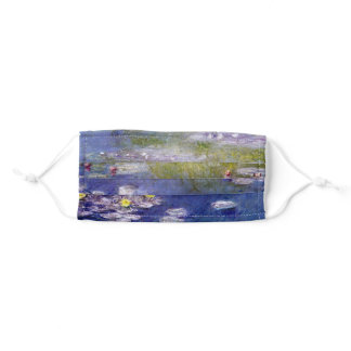 """Claude Monet """"Nympheas at Giverny"""" Adult Cloth Face Mask"""