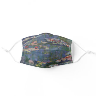 Claude Monet Water Lilies 1916 Fine Art Adult Cloth Face Mask